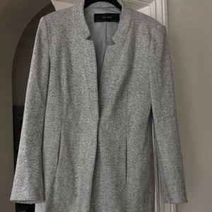 Zara wool blazer coat